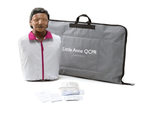 Laerdal Little Anne QCPR Brown